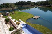 中浩山屿湖实景图