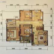 金地锦城3室2厅1卫113平方米户型图
