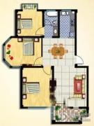 名仕佳园3室2厅1卫0平方米户型图