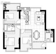 聚镇3室2厅1卫106平方米户型图