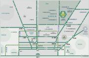 昌平绿地中央广场Ⅱ期交通图