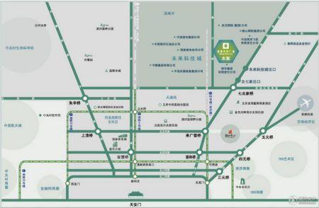 昌平绿地中央广场Ⅱ期