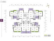 珑山居3室2厅2卫97--110平方米户型图