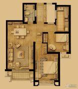 象屿两岸贸易中心2室2厅1卫90平方米户型图