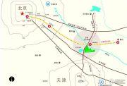 京津锦绣香江交通图