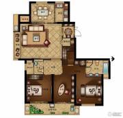 汇金锦园3室2厅2卫0平方米户型图