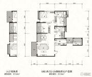 信和御龙山4室2厅3卫159平方米户型图