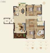 怡海龙湖壹号4室2厅2卫0平方米户型图
