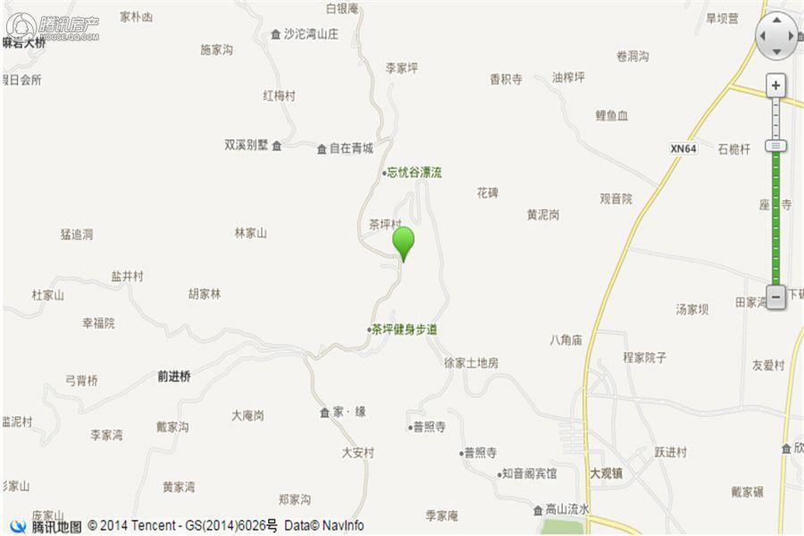 青城水交通图