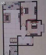 家绮池阳国际2室2厅2卫98平方米户型图