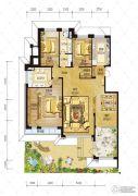 辰能溪树庭院(南区)3室2厅2卫0平方米户型图