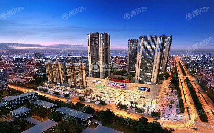湛江义乌国际商贸城效果图