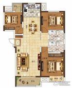 奥兰和园3室2厅2卫126平方米户型图
