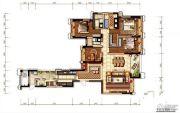 环球汇天誉4室2厅2卫209平方米户型图