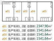 中国・北方健康食品产业园1室0厅0卫1541平方米户型图