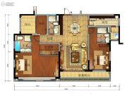 珠江金茂府4室2厅2卫171平方米户型图