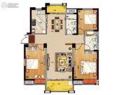 鹏欣领誉 高层3室2厅2卫131平方米户型图