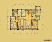 益田枫露4室2厅2卫155平方米户型图