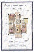 汕头碧桂园3室2厅2卫0平方米户型图