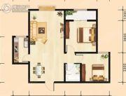 建国路阳光100大厦2室2厅1卫90平方米户型图