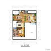北京城建・海云家园110平方米户型图