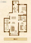 群力家园3室1厅1卫0平方米户型图