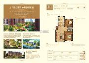 大悦城2室2厅1卫101平方米户型图
