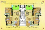 水岸花城4室2厅2卫167--168平方米户型图