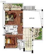 雅居乐原乡3室2厅4卫204平方米户型图