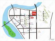 麒麟公馆交通图