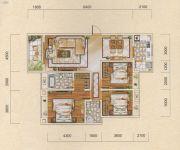名爵世家3室2厅2卫128平方米户型图