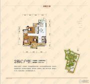潇湘第一城3室2厅2卫127平方米户型图