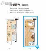 碧桂园泰富城0室0厅0卫37平方米户型图