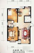 海园壹品2室2厅1卫0平方米户型图