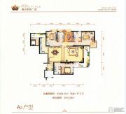 滇池明珠广场5室2厅3卫209平方米户型图