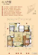 世茂天樾3室2厅3卫139平方米户型图