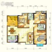四季阳光城2室2厅2卫0平方米户型图