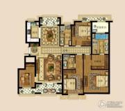 绿城・海棠湾4室2厅3卫0平方米户型图
