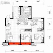 朗明居3室2厅2卫117平方米户型图