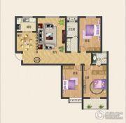 中纺佳苑・颐和铭郡3室2厅2卫144平方米户型图