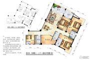 恒大苹果园5室2厅3卫0平方米户型图