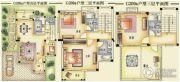 碧桂园清泉城205--215平方米户型图