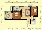 翌琦新印象3室1厅1卫78平方米户型图