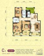 梦幻谷・�|方�A府3室2厅2卫146平方米户型图