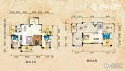 三祺长岛花园3室2厅3卫206平方米户型图