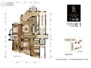 百川・润城4室2厅2卫0平方米户型图