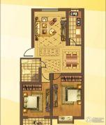 建华新园2室2厅1卫0平方米户型图