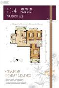 万豪世纪天街3室2厅1卫109平方米户型图