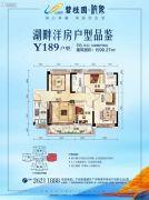 碧桂园映象3室2厅2卫99平方米户型图