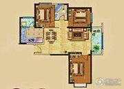 兰雅园丁雅居3室2厅1卫127平方米户型图